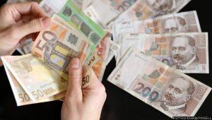 22.09.2020., Zagreb - Ilustracijacija za brojanje novaca, kune i euro. Photo: Emica Elvedji/PIXSELL